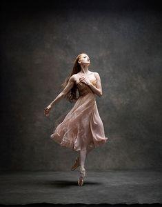 And, something magical...Gillian Murphy, Principal Dancer, American Ballet Theatre, by Ken Browar and Deborah Ory, NYC Dance Project, 2015.