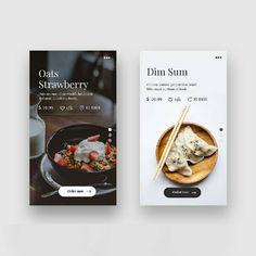 Image may contain: text Food Web Design, Web Ui Design, Menu Design, Flat Design, Carta Restaurant, Restaurant App, Web Mobile, Mobile App Ui, Android App