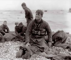 No words for this..... D Day Rescue, Omaha Beach, 1944