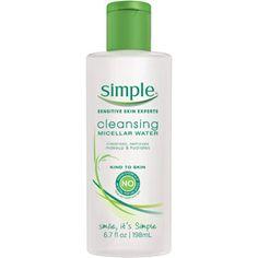 Simple Cleansing Micellar Water, 6.7 fl oz