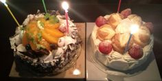 My special birthday cakes!!☆