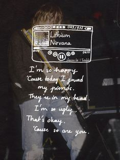 Nirvana Lyrics Tumblr My favourite part of the song