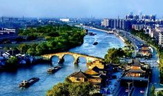 Jing-Hang Grand Canal: Ancient China's longest waterway.