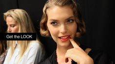 Get the Look: Sexy Red Lips are one of the hot trends for summer. Watch the video