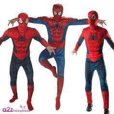 Mens spiderman spider-man #adult #superhero marvel amazing #fancy dress costume,  View more on the LINK: http://www.zeppy.io/product/gb/2/141643367174/
