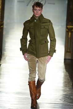 Daks Mens RTW Fall 2014 - Slideshow - Runway, Fashion Week, Fashion Shows, Reviews and Fashion Images - http://WWD.com http://weardownjacket.blogspot.com/  how pretty with this fashion CAOT! 2014 CANADA GOOSE JACKET discount for you! $169.99