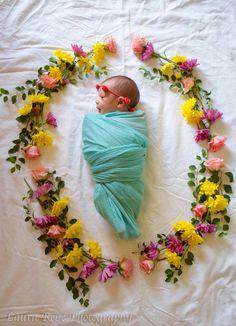Cute newborn / birth announcement.