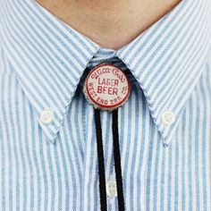 Learn how to make your own bolo tie! These would be a great Father's Day gift!