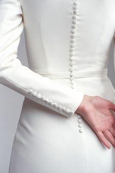 Crepe Wedding Dress, Classic Wedding Dress, Modest Wedding Dresses, Designer Wedding Dresses, Bridal Dresses, Crepe Dress, Reception Dresses, Wedding Dress Patterns, Dresses Uk