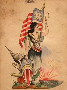An incomplete history of American traditional tattoos