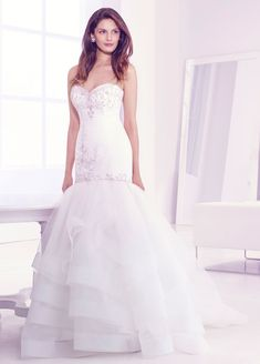 Bridal Gowns, Wedding Dresses by Lovelle By Lazaro - Style LL4401 Spring 2014