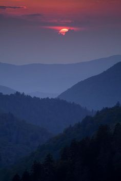 Smoky Mountain Sunset | Smoky Mountain Sunset | Photography - Sunrise, Sunset
