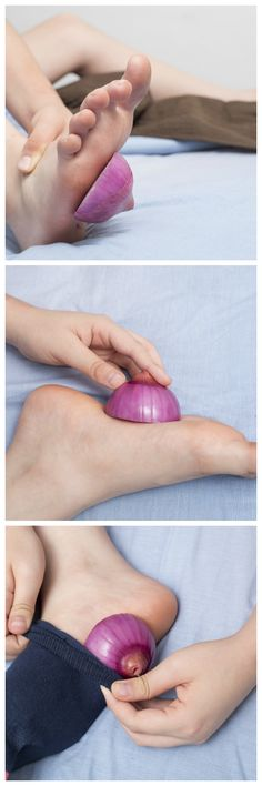 Why You Should Put Onions In Your Socks Before Going To Bed?