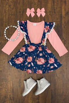 Best Ideas For Baby Clothes Hipster Girl Little Girl Outfits, Little Girl Fashion, Toddler Girl Outfits, Baby Outfits, Little Girl Dresses, Toddler Fashion, Kids Outfits, Kids Fashion, Cute Outfits