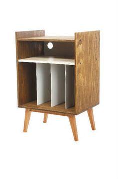 Mueble hecho a medida para tu tornamesa, vinilos y demás componentes de tu sistema de sonido. De ...