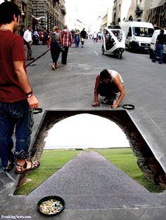 """""""Sidewalk Art"""""""