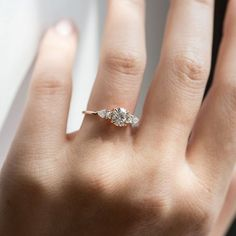 Forever Classic moissanite engagement ring set,SI-H diamond wedding band white gold Marquise band Oval moissanite ring set - Fine Jewelry Ideas Morganite Engagement, Engagement Ring Settings, Diamond Engagement Rings, Halo Engagement, Vintage Gold Engagement Rings, Solitaire Rings, Three Stone Engagement Rings, Solitaire Diamond, Band Rings
