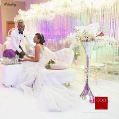 THE BEAUTIFUL ALL-WHITE WEDDING OF NKOLI AND JOEL