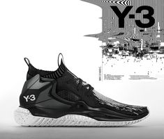Y3 concept shoe on Behance