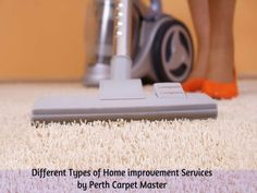 Different types of home improvement services like Carpet Laying, Carpet Patching,Invisible Mending ,Water Damage Restorations,Vinyl Laying and Repairs ,Re stretching carpet ,Tile and Grout Cleaning,Steam Cleaning for Carpet and Upholstery