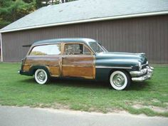 1951 Mercury Woody Station Wagon