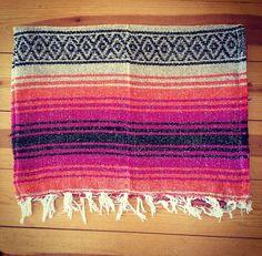 mexikanische Falsa Yoga Decke pilates von waterandjewel auf Etsy, $26.00