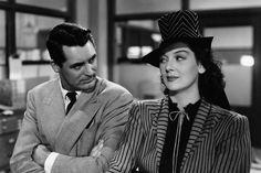 Howard Hawks' 1940 film, starring Cary Grant and Rosalind Russell, remains one of Hollywood's finest and most radical comedies. Rosalind Russell, Cary Grant, Angie Dickinson Movies, Classic Hollywood, Old Hollywood, Romantic Comedies On Netflix, Friday Movie, Believe, Catherine Deneuve