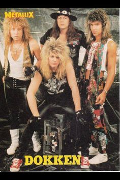 """Dokken was somewhat unfairly classified as """"hair metal"""" because they could actually write and play damned good songs."""