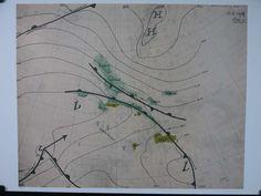 Marinus Boezem: Zeefdruk, Weersituatie van 18-3-1969