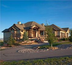 Stunning <strong> craftsman style house plan </strong> for western living. The perfect kitchen