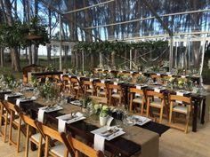 Clear Transparent Tent #WineryRoadForest #ForestWeddings