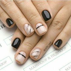 Simple Nail Designs, Nail Art Designs, Nails Design, Cute Nails, Pretty Nails, Mens Nails, Crystal Nails, French Nails, Simple Nails