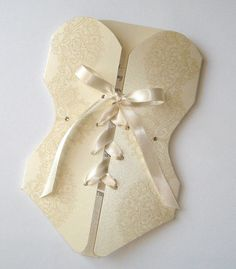 25  Lingerie Corset Bridal Shower or by embellishedbytiffany, on etsy