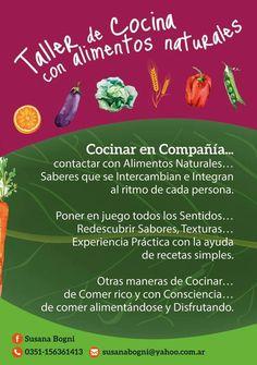 PORTAL TERAPIAS CORDOBA: COCINAR en COMPAÑÍA!!! taller de cocina con alim n...