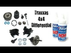 How To Maintain Clean & Re Oil Traxxas 1/10 4x4 Differentials (Slash, St...
