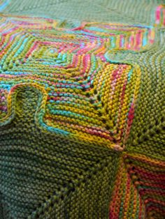 #Puzzle #Baby #Blanket by Paula Levy in @ravelry