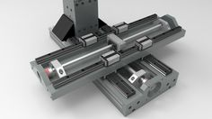 cnc mill , mid size , work in progress ... - STEP / IGES,Rhino,Parasolid - 3D CAD model - GrabCAD