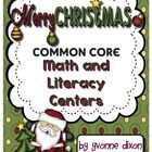 $8.00 Merry Christmas!  Here is a Common Core center packet that will get your class in the Christmas spirit!  Included in this download are 112 pages of...