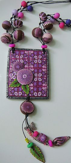 wildthings 002 by polymerclaybeads, via Flickr