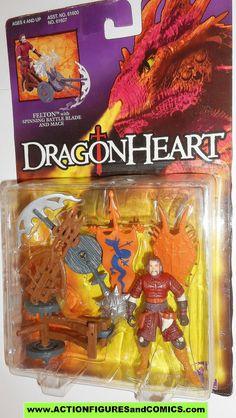 Dragonheart FELTON kenner 1995 movie action figures moc