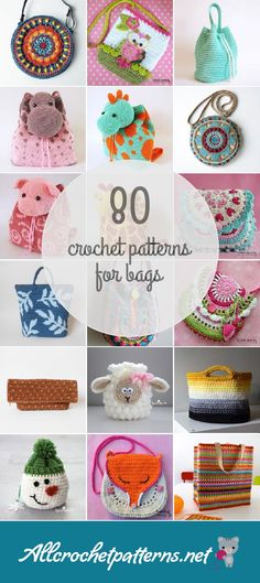 Crochet Patterns For Bags