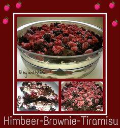 'Himbeer Brownie Tiramisu'
