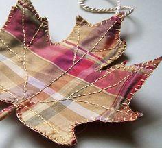 Plaid Maple Leaf