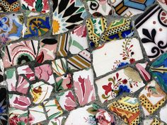 Mosaic Parc Guell Barcelona