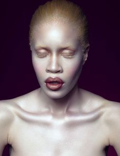 Albino African, Gorgeous Women, Beautiful People, High Fashion Photography, Portrait Photography, Ugly To Pretty, Model Face, Beauty Shoot, Human Art
