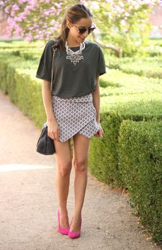 Style And Comfort Come Together With Skorts