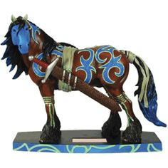 offering Horse of a Different Color equine figurines and Painted Ponies & Equine Gifts. All The Pretty Horses, Beautiful Horses, Clydesdale Horses, Breyer Horses, Trail Of Tears, Horse Artwork, Pony Horse, Painted Pony, Carousel Horses