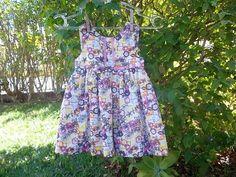Vestido Infantil Floral ! $70.00