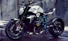 BMW Reveals 'Concept Roadster' Motorcycle Design