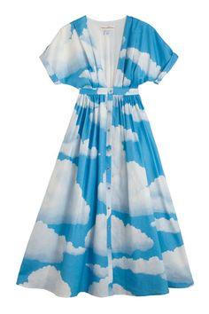 Mara Hoffman - Clouds Kimono Gown   BONA DRAG